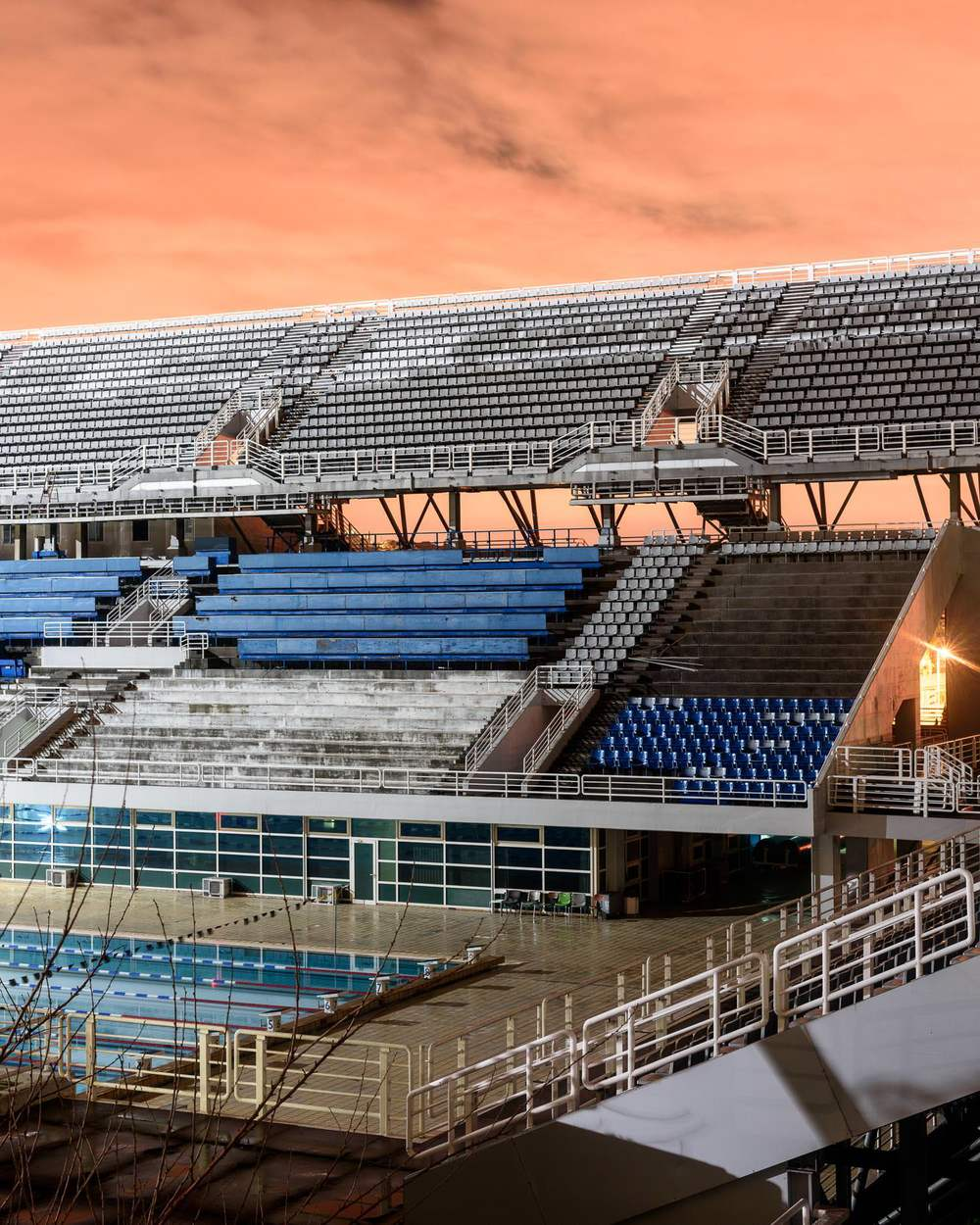 Outdoor Olympic Swimming Pool, Athens Olympic Sports Complex (still in use)