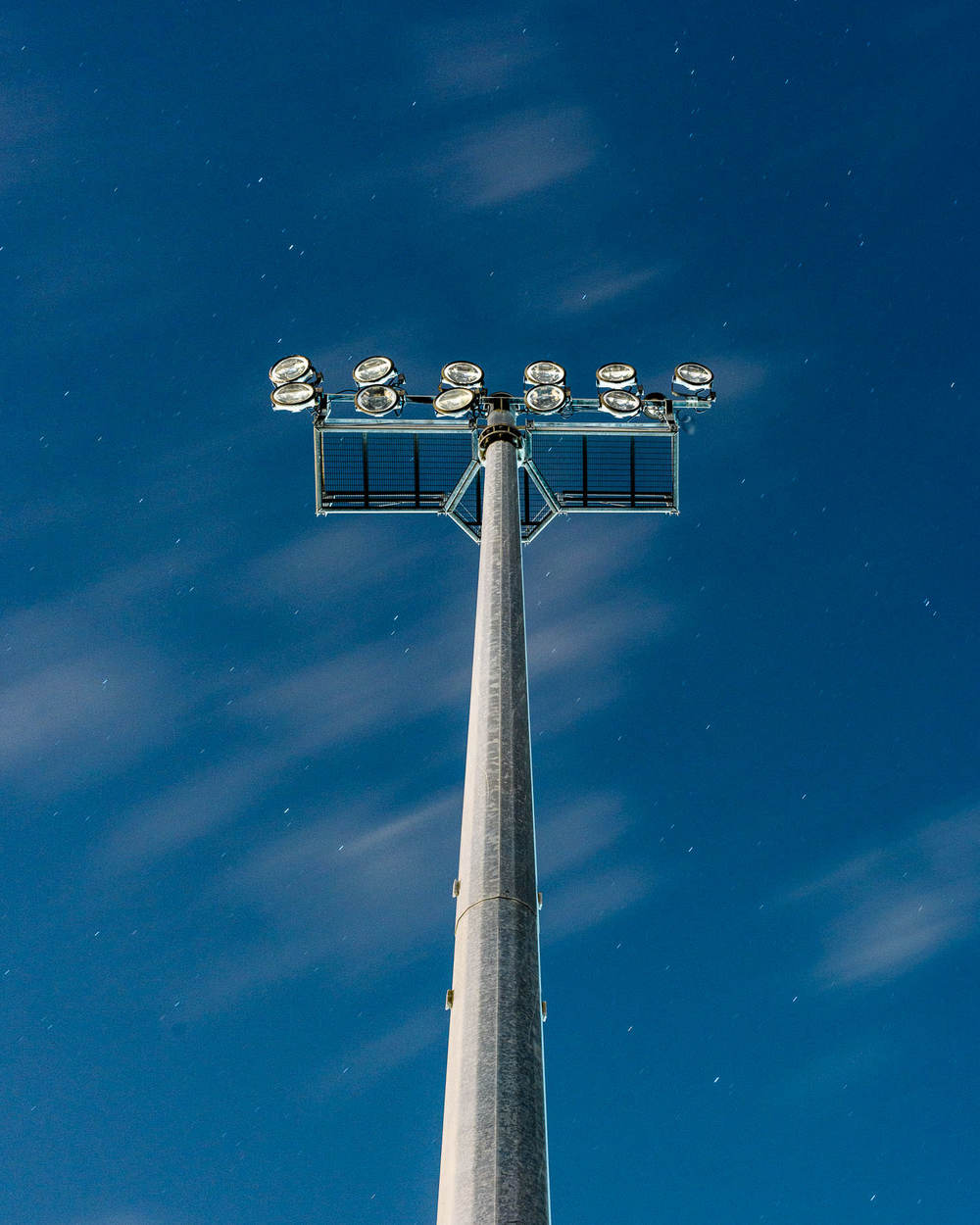 Floodlights at Faliro Olympic Beach Volleyball Centre (not in use)