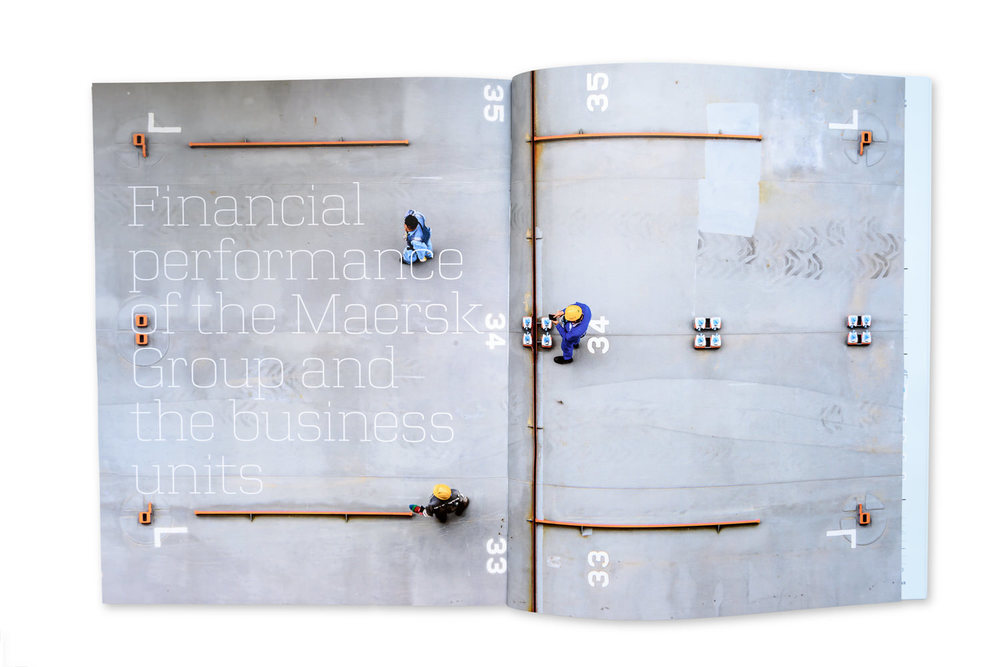 Annual Report for Maersk Group, 2015
