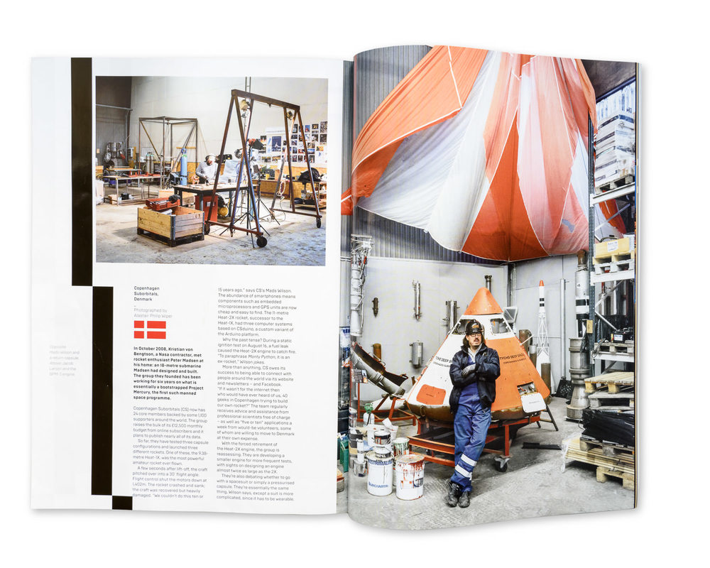 Wired Magazine June 2015: Copenhagen Suborbitals