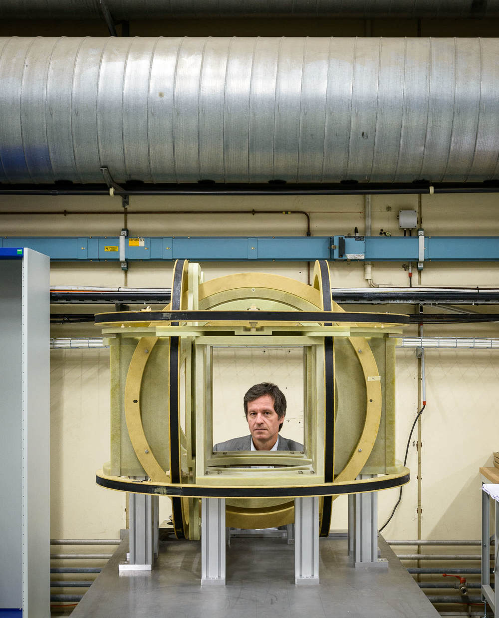 Dr. Stephan Russenschuck, leader of the magnetic measurement section on the Large Hadron Collider at CERN, Switzerland