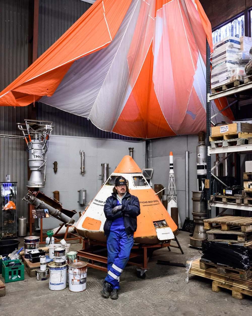 Mads Wilson of Copenhagen Suborbitals, Denmark