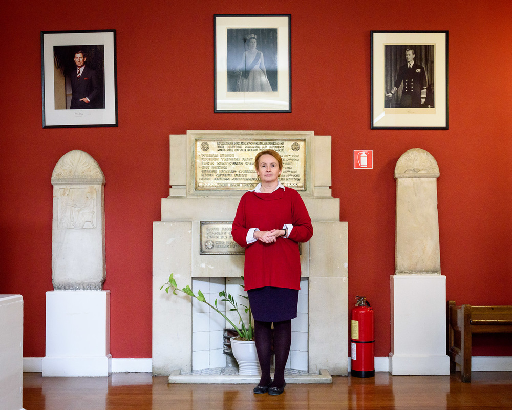 Professor Catherine A. Morgan O.B.E., Director of the British School at Athens. Founded in 1866, the School promotes research of international excellence in all disciplines pertaining to Greek lands, from fine art to archaeometry and in all periods to modern times.