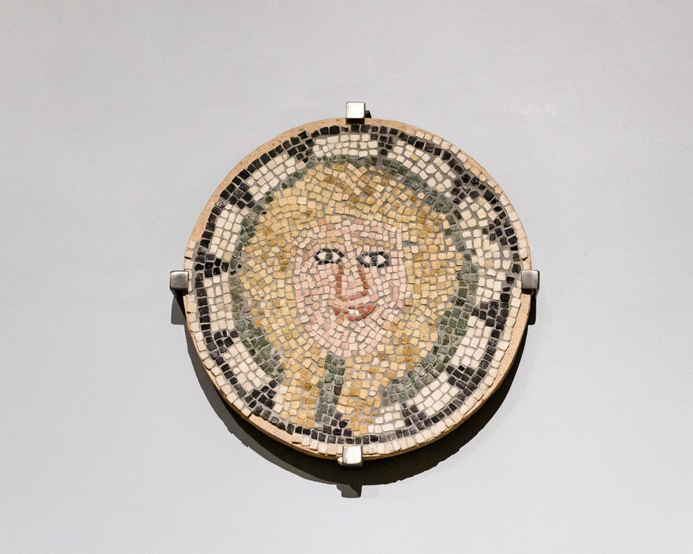 Mosaic at the Benaki Museum