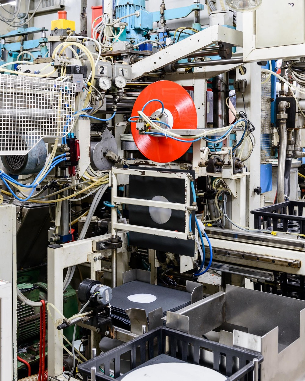 The largest vinyl pressing plant in the world, the Netherlands