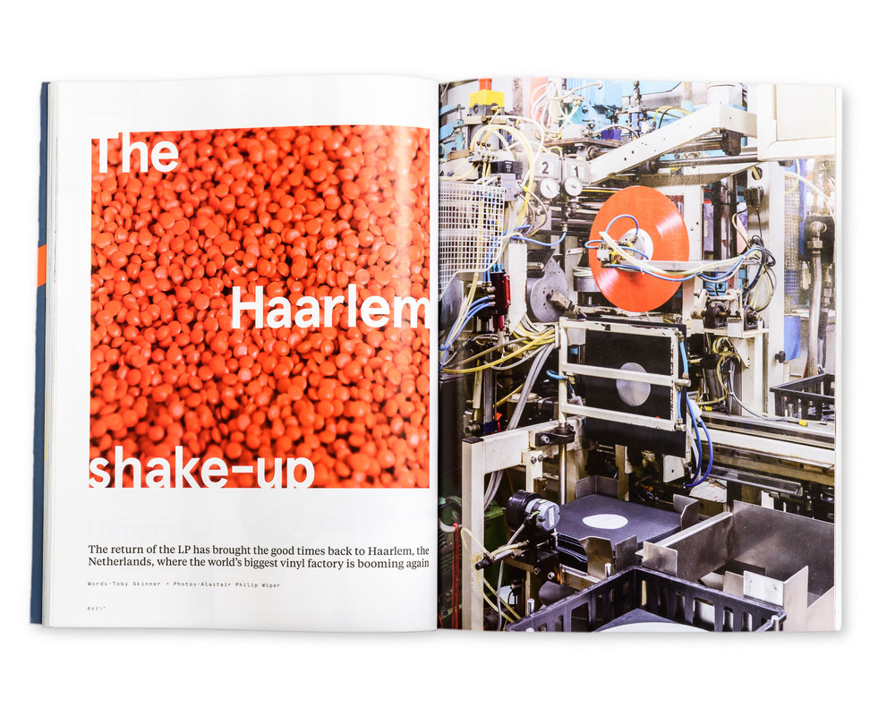 N by Norwegian magazine August 2015: Inside the Biggest Vinyl Factory in the World, The Netherlands
