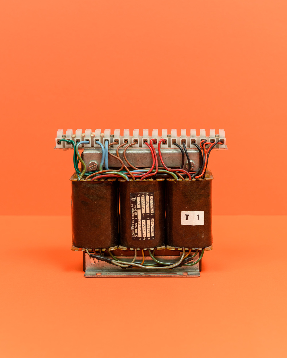 Small 3-phase transformer 380V/270VA