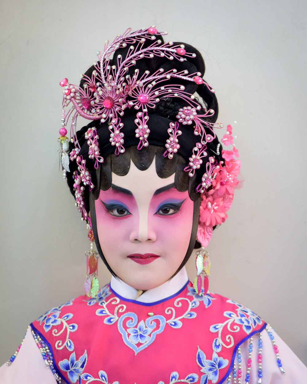 Cantonese Opera at the Sunbeam Theatre, Hong Kong