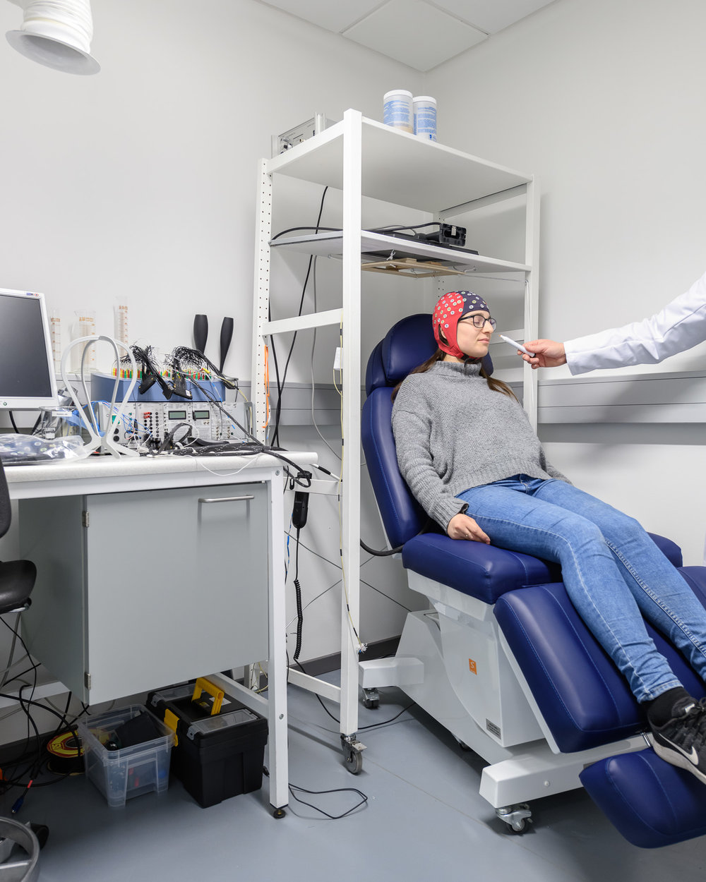 The physiology lab where research takes place on food emotions, food-intake feelings and sensory-preference learning mechanisms