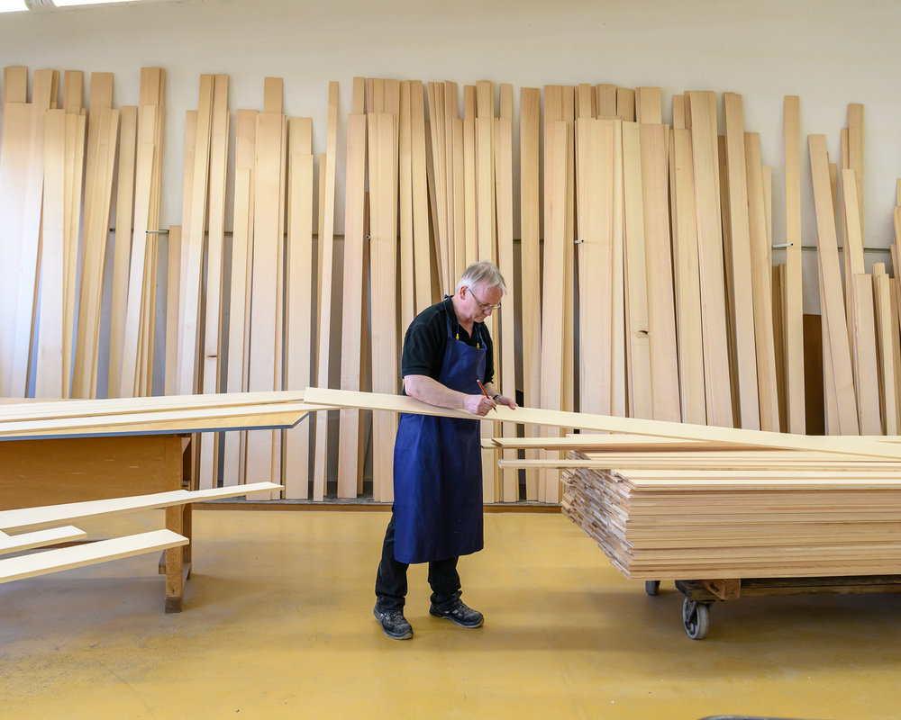 Steinway & Sons piano factory, Hamburg