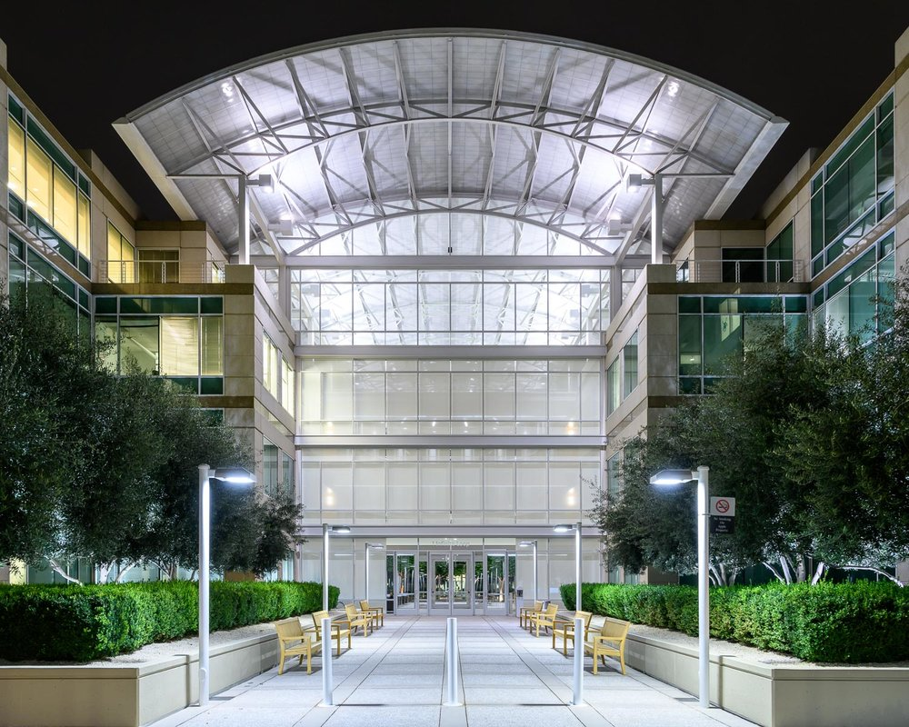 The old Apple headquarters, 1 Infinite Loop, Cupertino