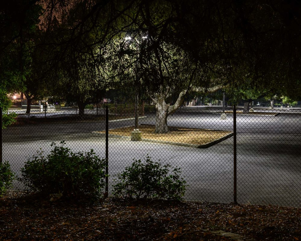 Staff car park at Hewlett Packard headquarters, Palo Alto