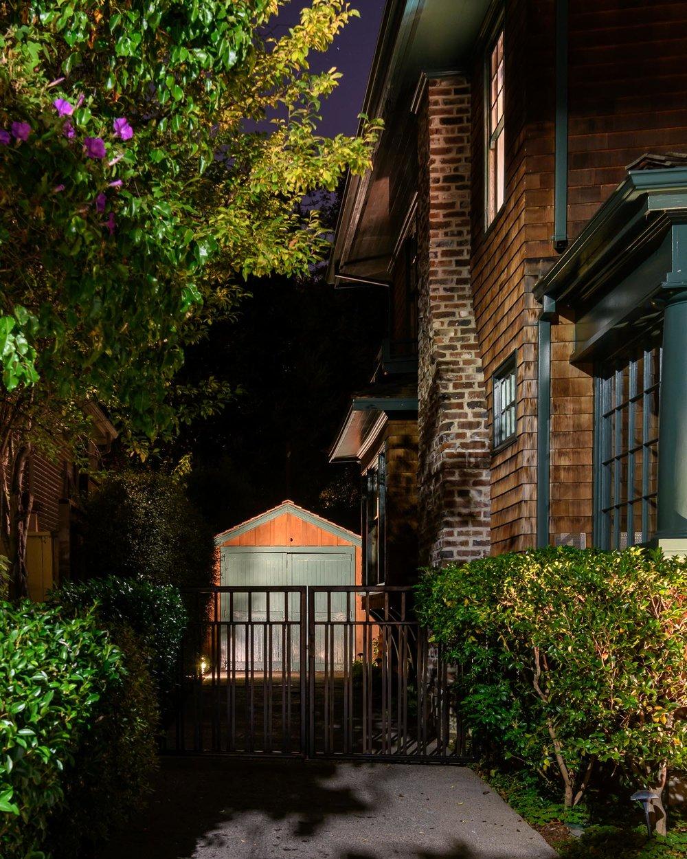 "The ""Birthplace of Silicon Valley"" garage inPalo Alto, whereWilliam HewlettandDavid Packardstarted developing theiraudio oscillatorin 1938."