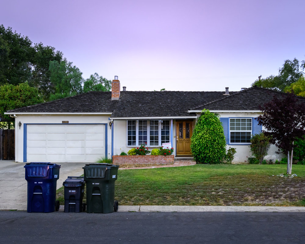 Steve Jobs' childhood home in Silicon Valley. He started Apple With Steve Wozniak in the garage.