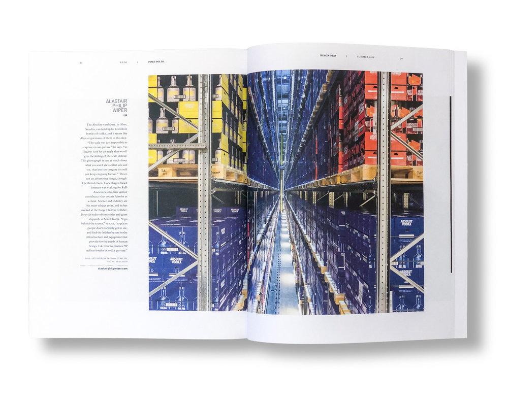 Nikon Pro magazine, Summer 2018
