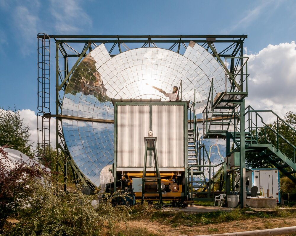 Mont-Louis Solar Furnace, France