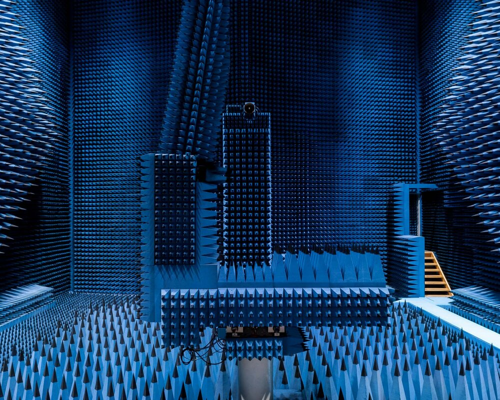Radio Anechoic Chamber, Denmark's Technical University