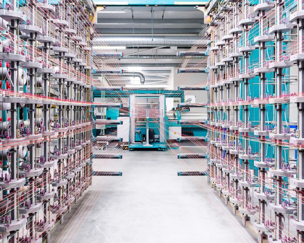 Kvadrat's Wooltex Textile Mill, UK