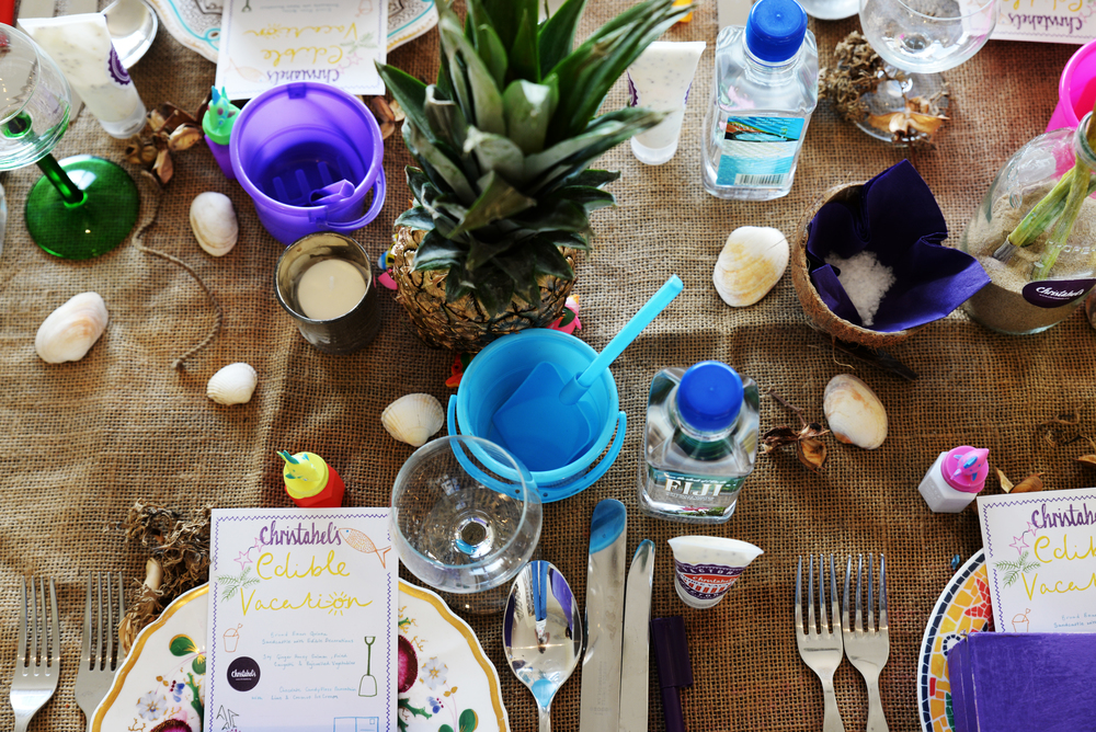 Seaside Table Setting