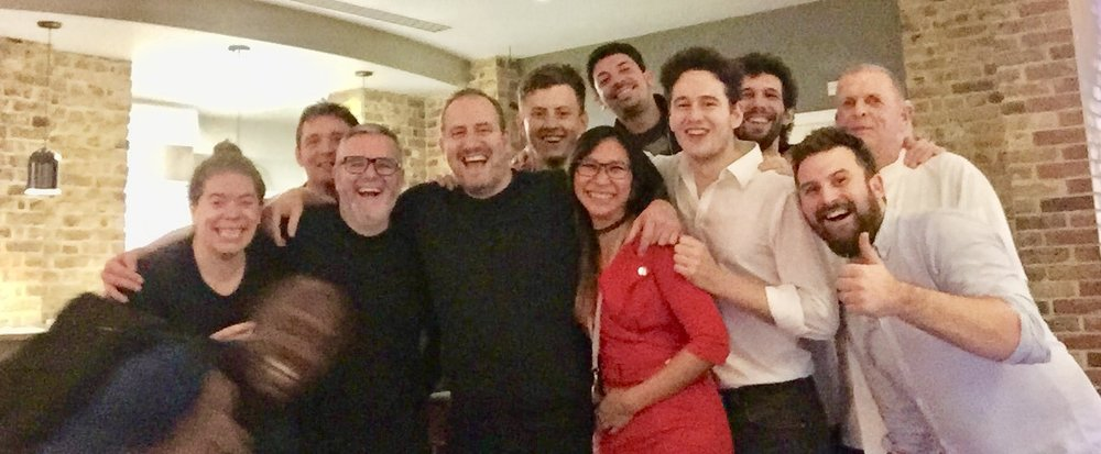 - The team at Brigade saying goodbye…for now