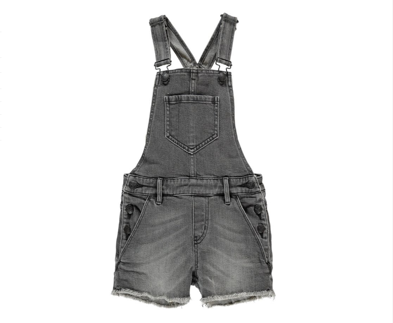 Yumi Grey Denim Fringes - Finger in the Nose