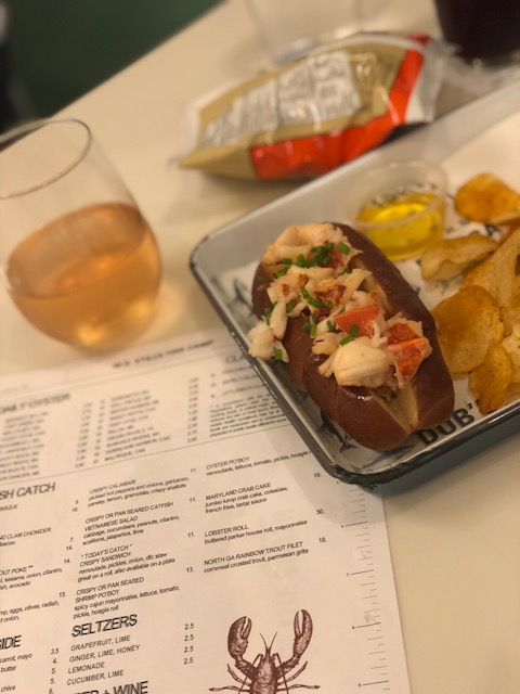 W.H. Stiles Lobster Roll
