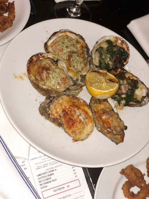 Chargrilled Oyster Combo