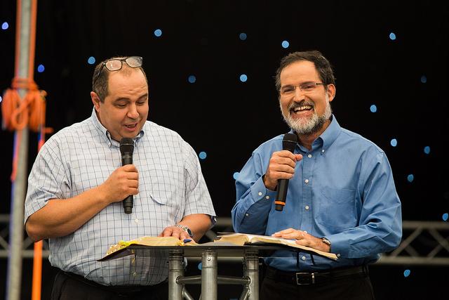 Aaron Ibrahim ja Avi Mizrachi