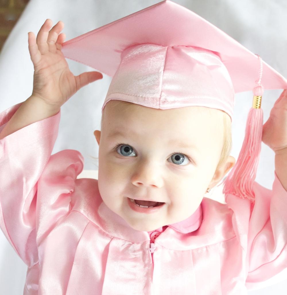 Baby Graduation Caps & Gowns — Kinder Keepsakes, LLC