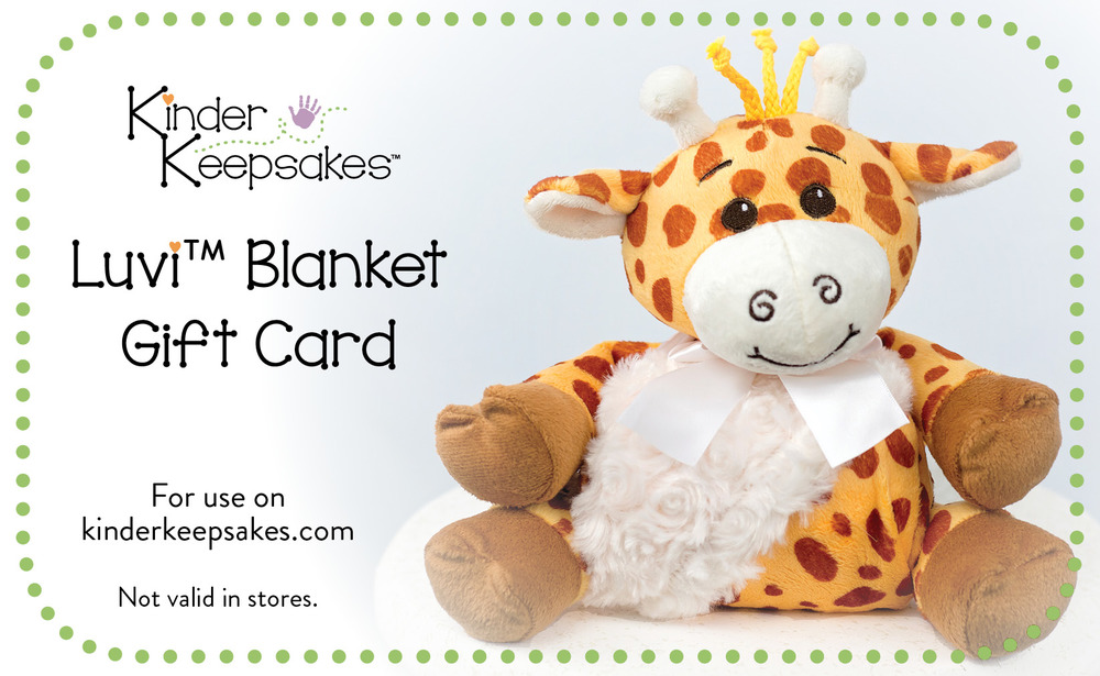 This gift card can only be used on Luvi™ Blankets