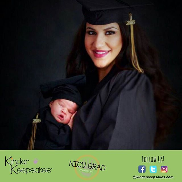 Celebrate success with your child 😍👶 Tot is wearing baby grad. Cap and Gown in black 🎓 Link in my bio 💻 . . #kinderkeepsakes #university #instababy #instagrambaby  #capandgown #success #perseverance  #goal