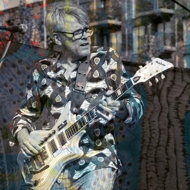 #guitarist #psychedelicart #airlineguitars #eastwoodguitars #country #blues #voodoo #amsterdam #maartenvandergrinten