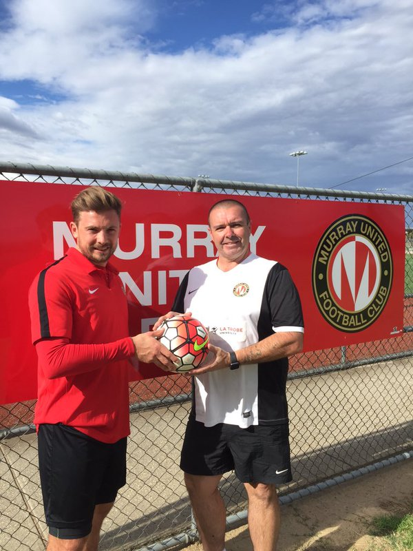Here is former Salford City FC midfielder Ashley Dunn playing for NPL team Murray United, Ash came to Soccer Smart in 2015 for options about playing soccer abroad and we showed him how to play football with an Australian football club.