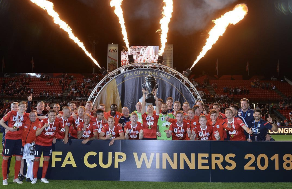 State league players compete against A-League sides in big FFA Cup matches