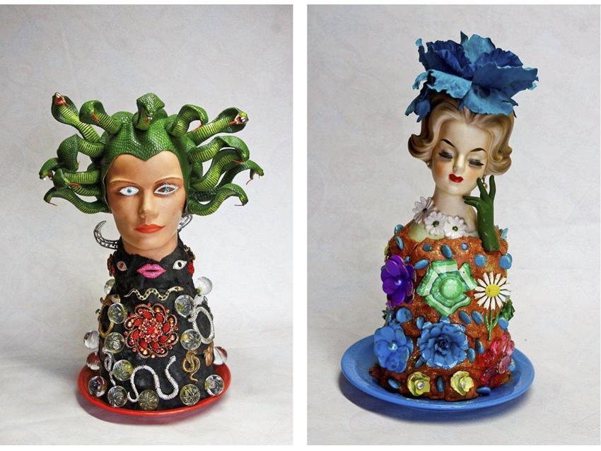 Memory jugs, Sue Kreitzman