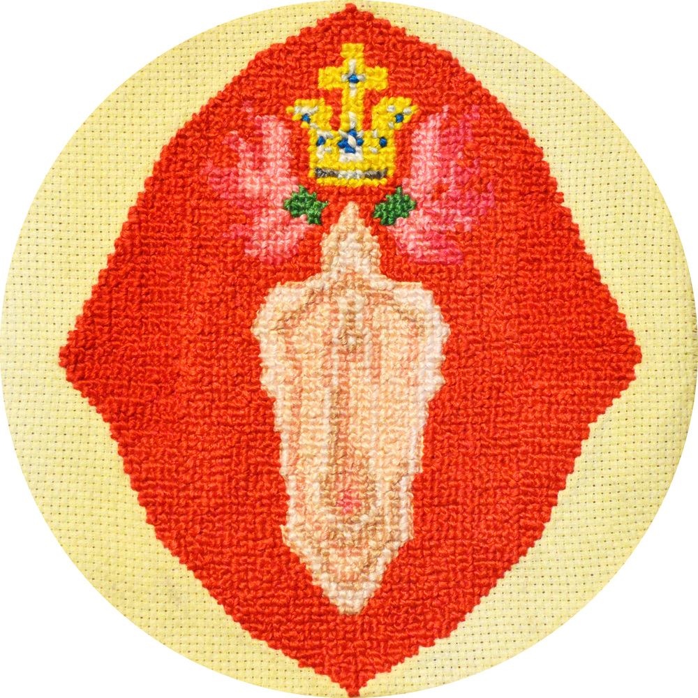 QUEEN CONCH_EMBROIDERY SERIES_2015.jpg