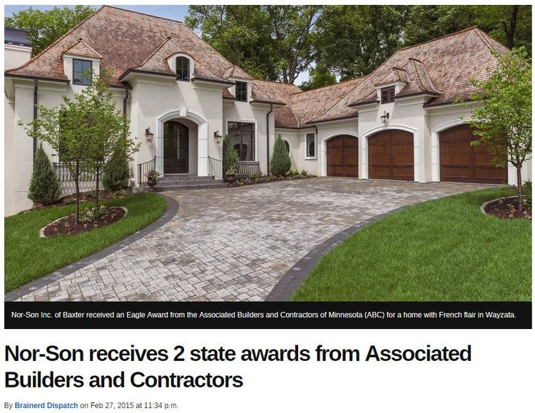 'PARISIAN POLISHED' HOME FEATURED IN BRAINERD DISPATCH FOR RECEIVING STATE AWARD FROM ABC