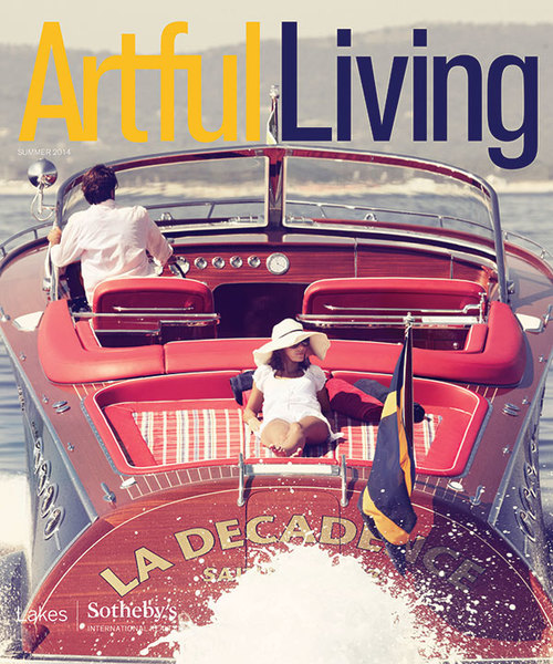 ESKUCHE DESIGN FEATURED IN ARTFUL LIVING MAGAZINE'S SUMMER 2014 ISSUE