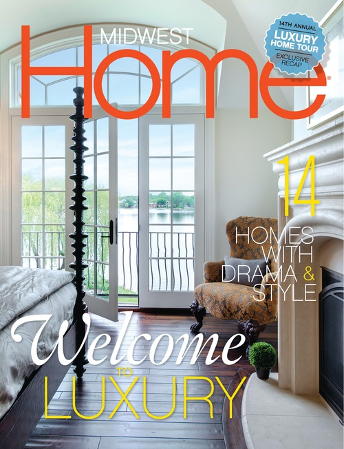 ESKUCHE DESIGN FEATURED IN MIDWEST HOME MAGAZINE'S AUGUST 2014 ISSUE