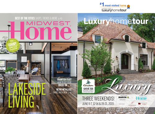 NOR-SON + ESKUCHE DESIGN'S #1 MOST VISITED HOME FROM LAST YEAR'S LUXURY HOME TOUR IS PROUDLY FEATURED ON THE COVER OF THE PROGRAM!