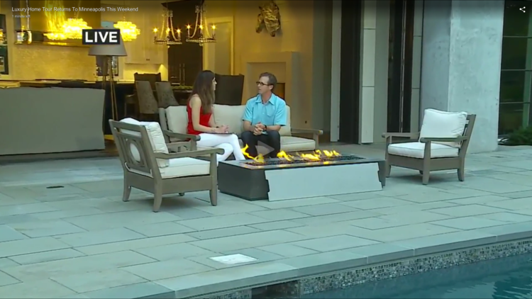 WCCO TALKS TO PETER ESKUCHE ABOUT 'FOREVER ESTATE' FEATURED ON THE 2015 LUXURY HOME TOUR