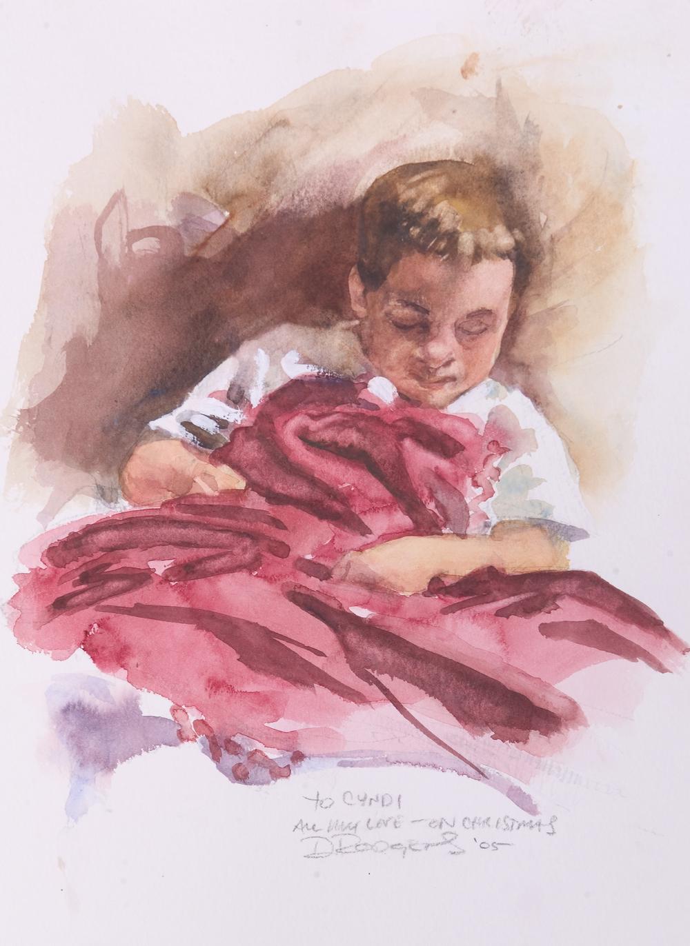 Benjamin Sleeping