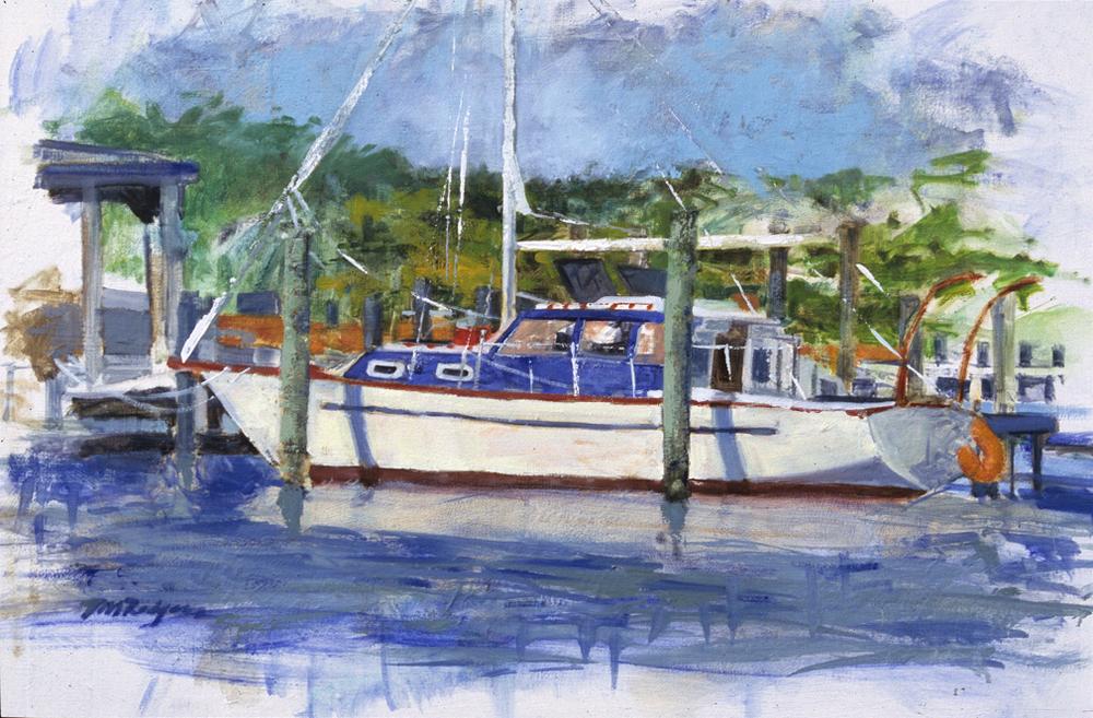 Ocracoke Boat