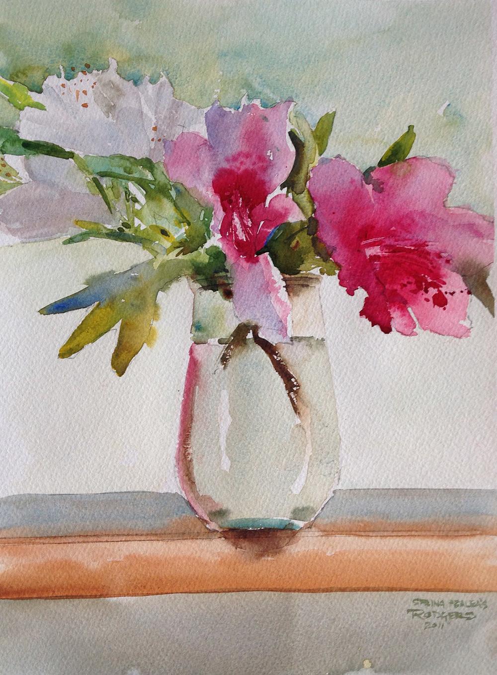 Spring Azaleas