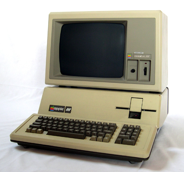 Apple III computer is the type we used for the course