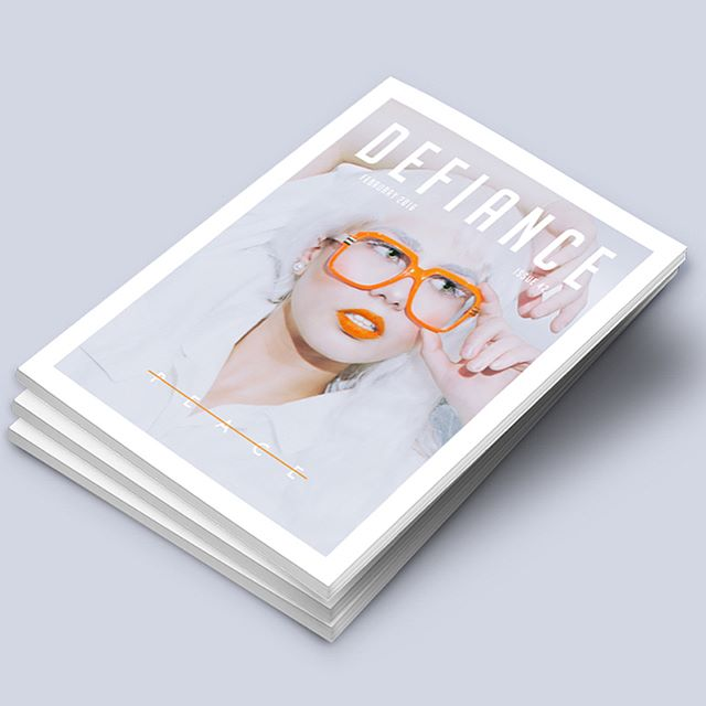 Today we are featuring a sequential high fashion editorial done by one of our senior designers, Spencer Wichman. Defiance Editorial depicts a young woman in a censored futuristic world. Check out more awesome work by this designer @spinsyr.  #magazineeditorial #photography #kstateaiga