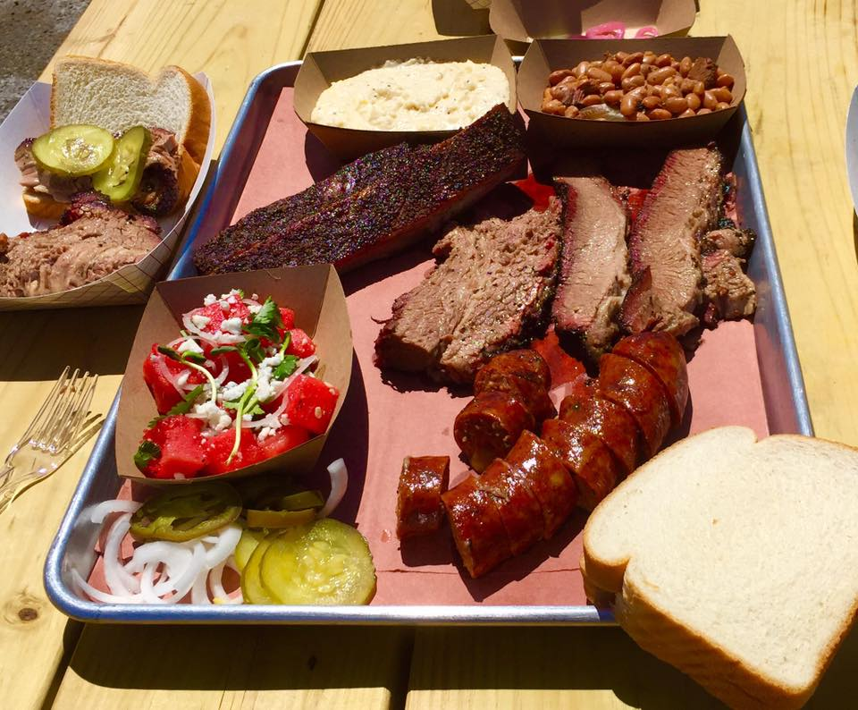 GUESS FAMILY BARBECUE Home: 2515 LaSalle, Waco, Texas Owner & Pitmaster: Reid Guess If you haven't heard, Guess Family Barbecue is taking Waco to the next level when it comes to the Texas tradition of smoked meats. Pitmaster Reid Guess has taken the skills he honed at Lambert's Barbecue in Austin, a Texas Monthly favorite, and brought them to his food trailer - and us Wacoans couldn't be more thankful. Using oak and fire, Guess Family is already perfection the classics with melt-in-your-mouth brisket, small batch ribs and homemade sausage.  Read More: https://tmbbq.com/guess-family-barbecue/