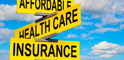 affordable healthcare insurance street sign
