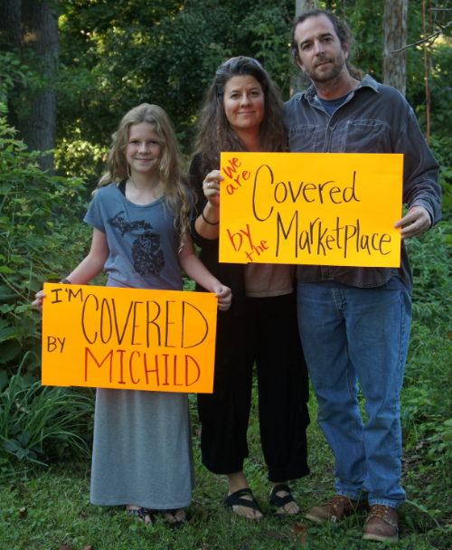 Times change. Now, Meredith and family are covered by employer insurance!