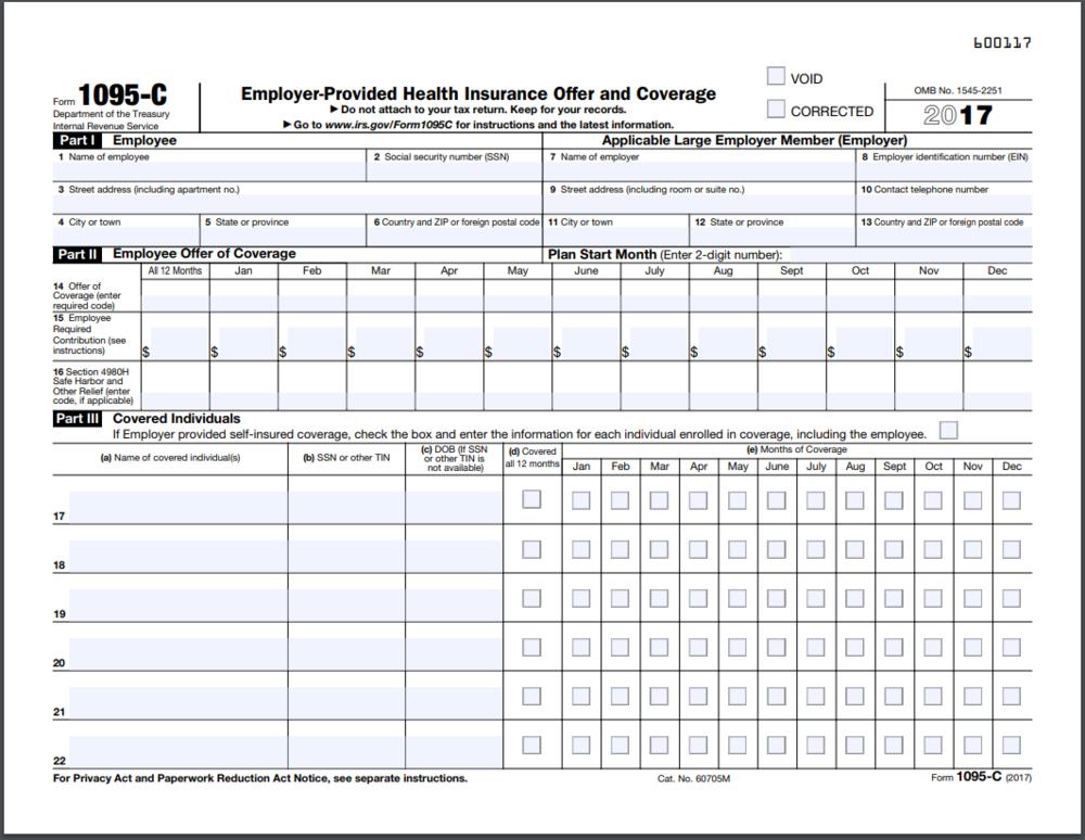 Formulario 1095-C  Comprendiendo su formulario 1095-C